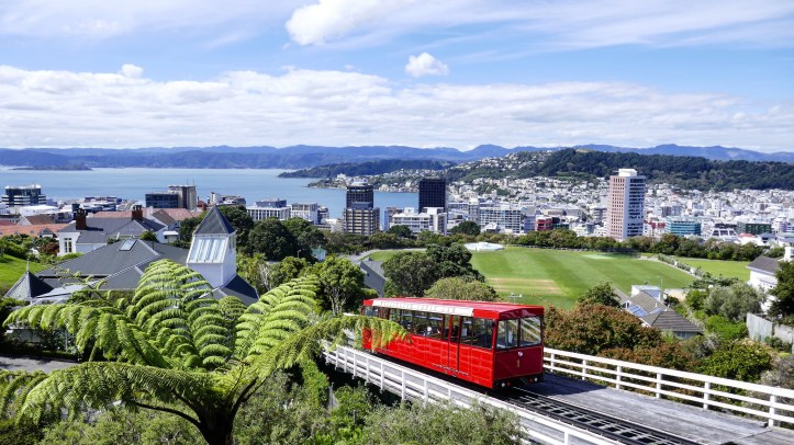 New Zealand North or South Island