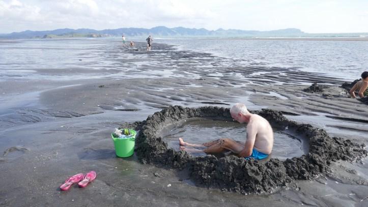 Hot Water Beach Kawhia New Zealand HIDDEN GEMS OF THE NORTH ISLAND