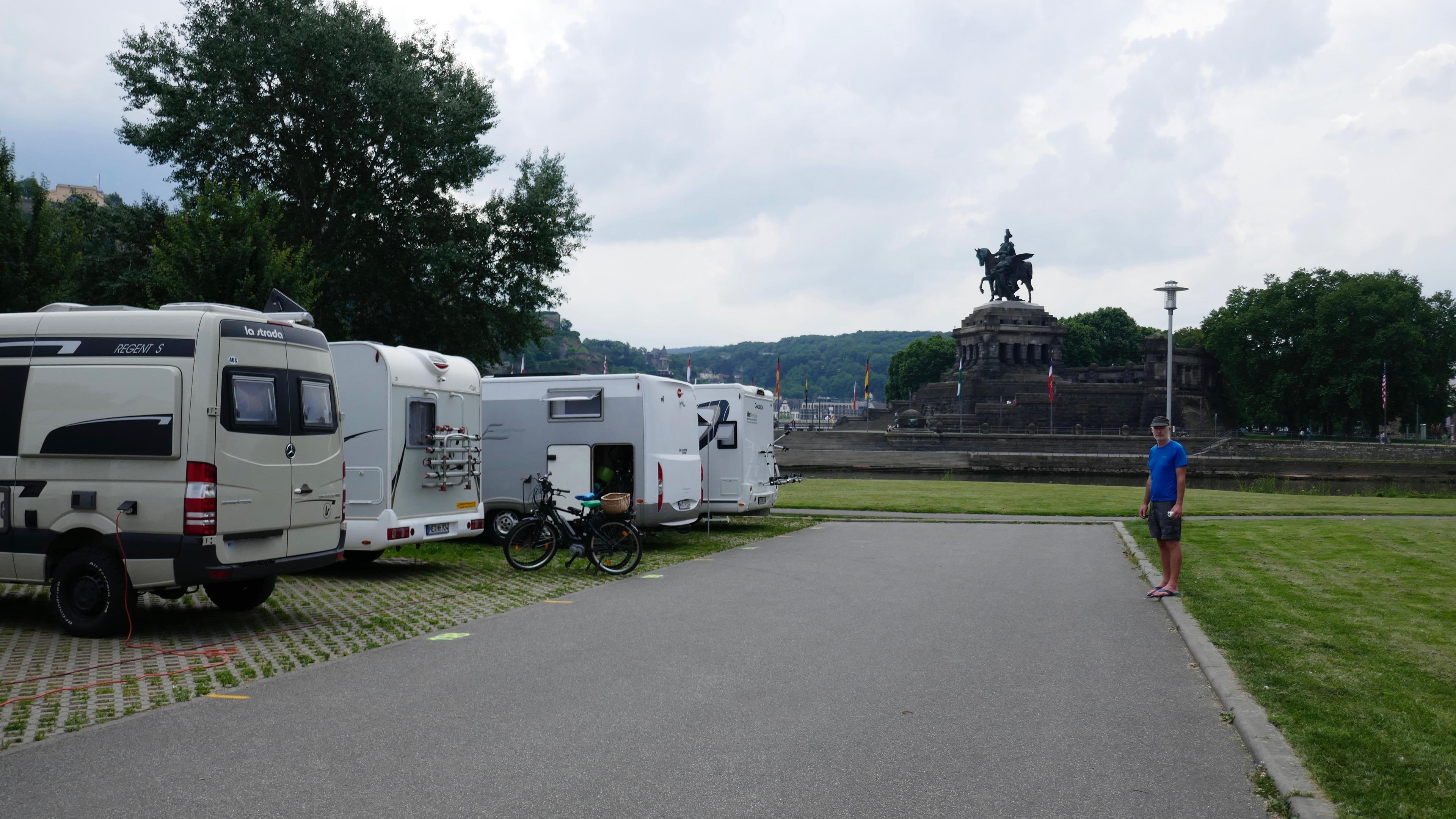 Koblenz motorhome parking