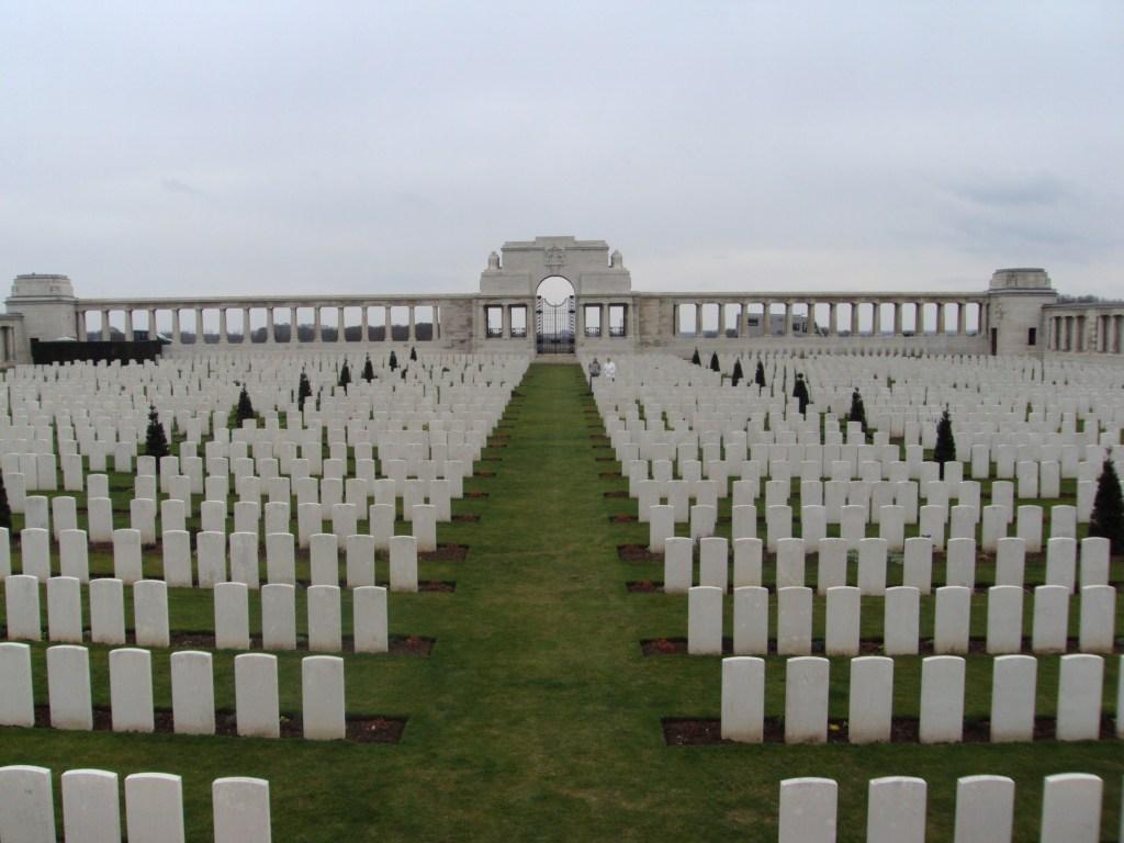 Pozieres cemetery
