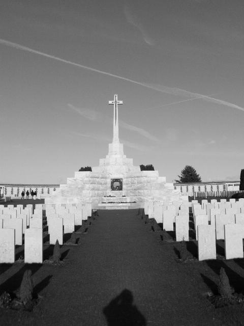 Tyne Cot cemetery Belgium