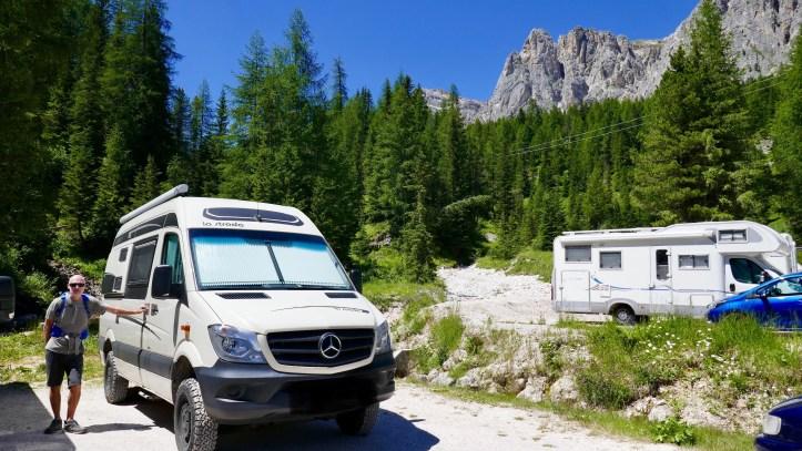 Sosta Dolomites
