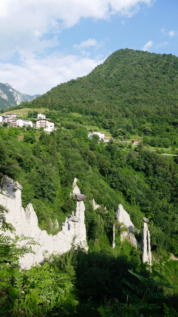 Rock formations Italy