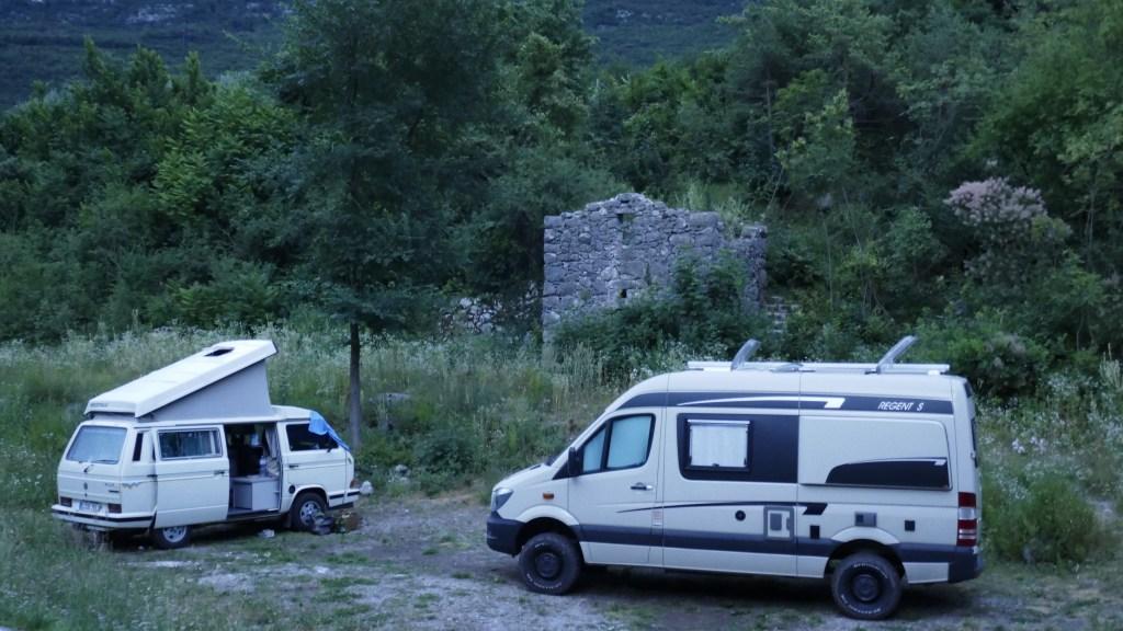 Wild Camping Italy