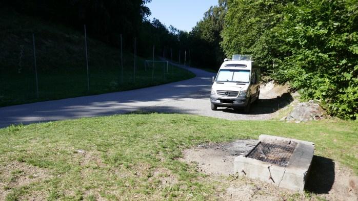 Bonneval Aire de Camping Car