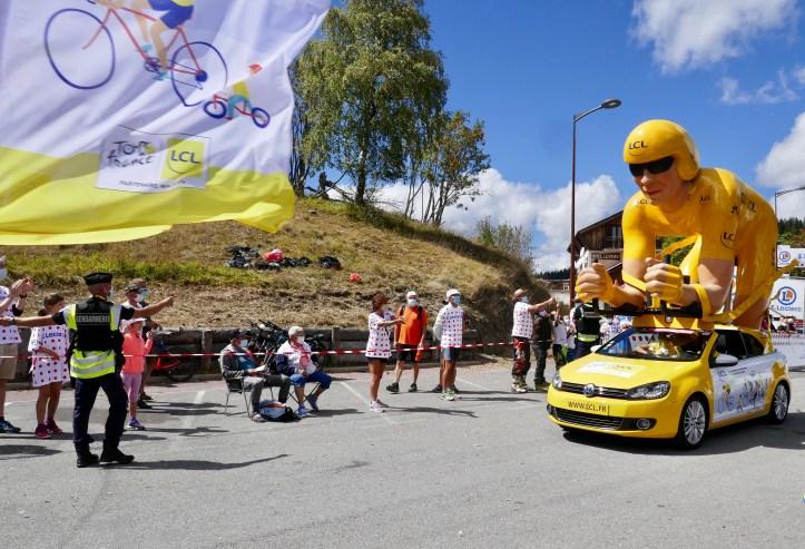 Tour de France summer campervan travels