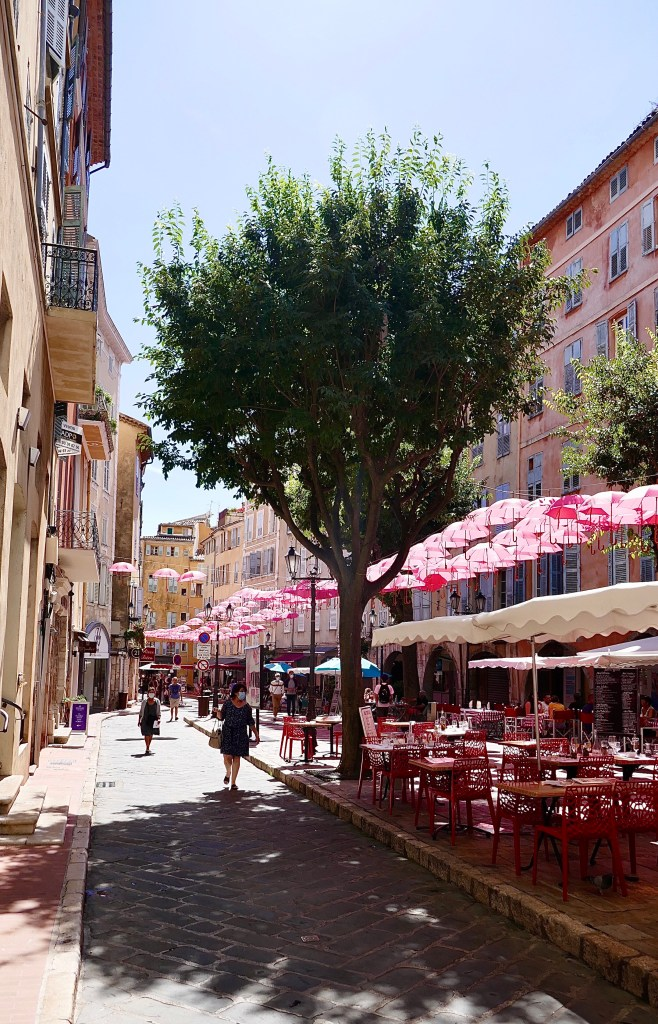 Grasse Summer campervan travels