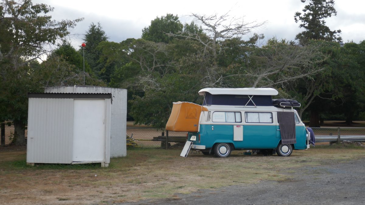 Freedom camping New Zealand