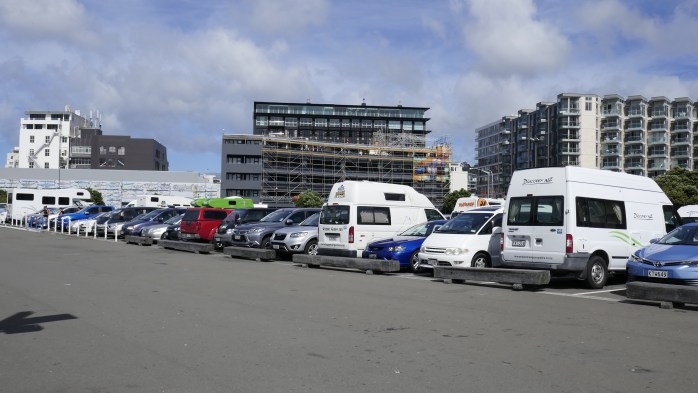 Hiring a campervan in New Zealand
