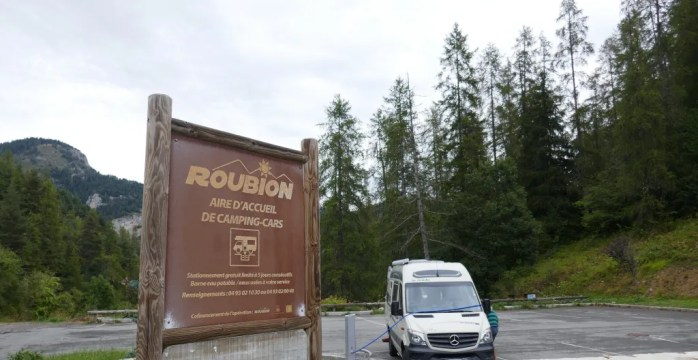 Aire Roubion France