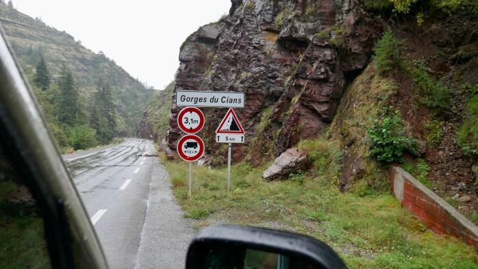 The Gorges du cians