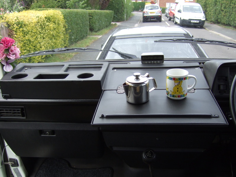 Vw T25 T3 Dash Tidy With Fold Out Map Table