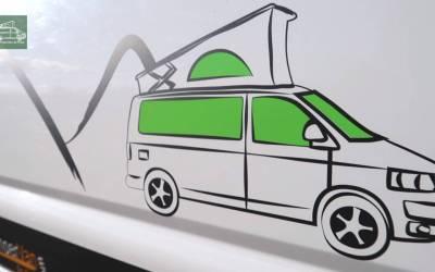 Rotulación, Como personalizar furgoneta Camper o Autocaravana