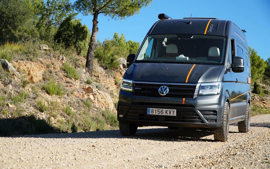 Volkswagen Crafter CAMPER 4×4 [REVIEW] Distribución Francesa | Campercas Adrenaline