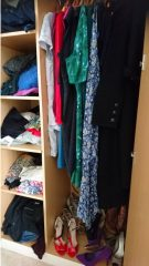 The capsule wardrobe challenge is looming