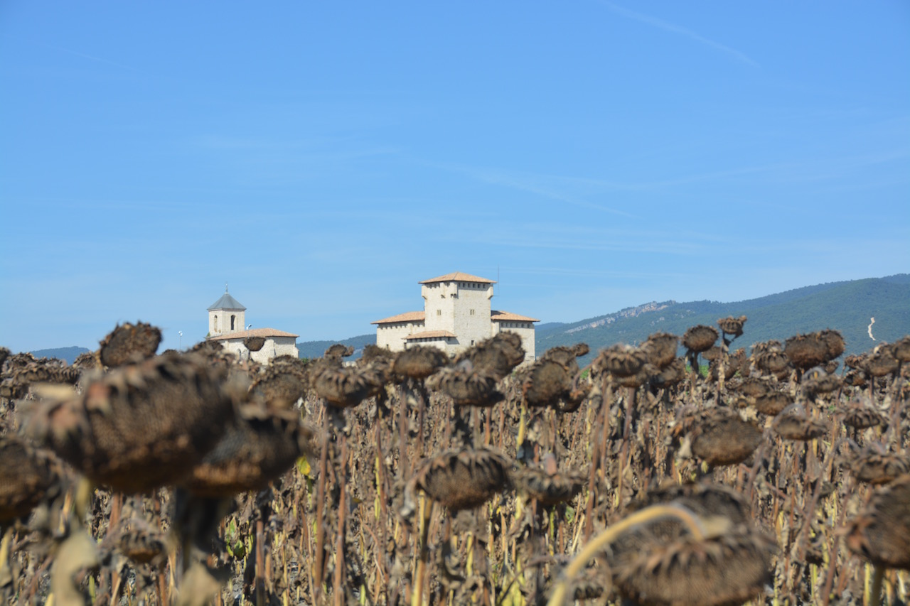 The countryside near Villnane