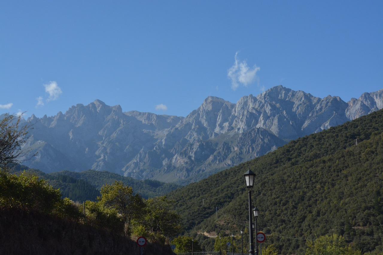 The Picos as seen from Potes