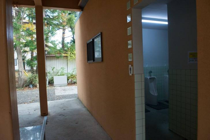 トイレ:西湖自由キャンプ場