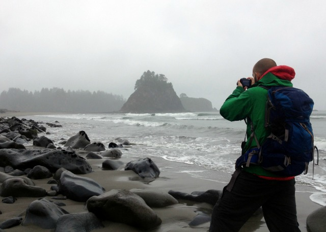 Sea Stacks Rialto Beach Olympic NP - Campfire Chic