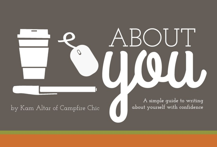 About You: A Simple Guide to Writing About Yourself with Confidence