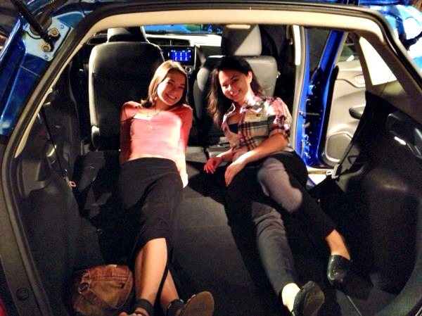 Cargo Room for 2015 Honda Fit - Campfire Chic