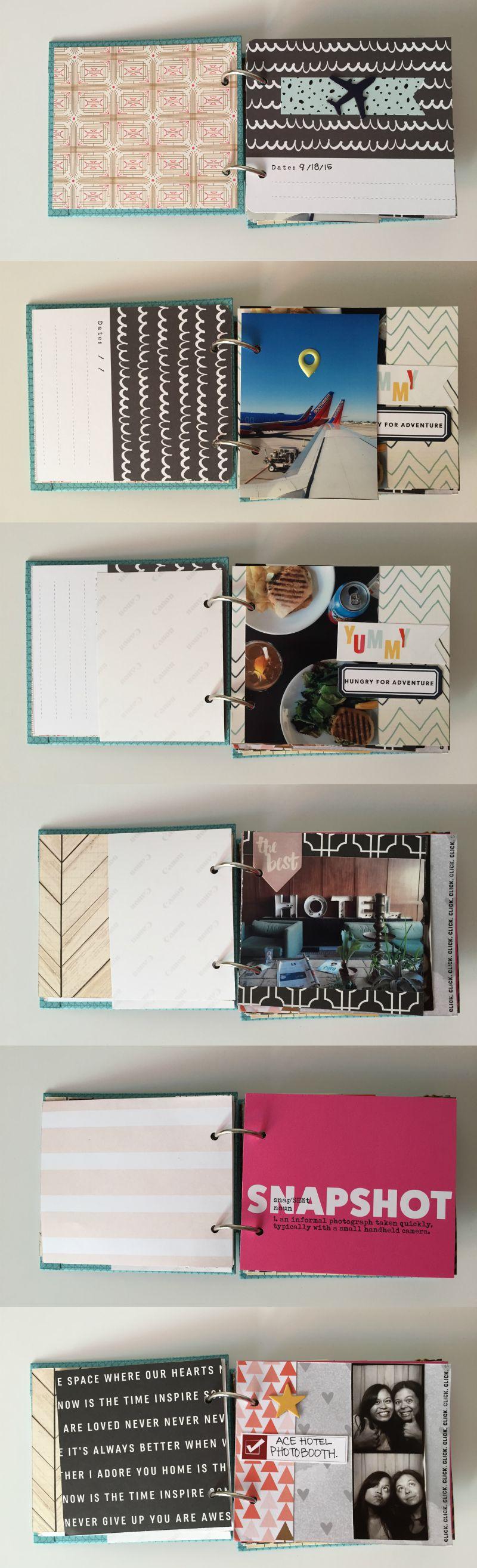 Portland Vacation Scrapbook Album - Kam of Campfire Chic