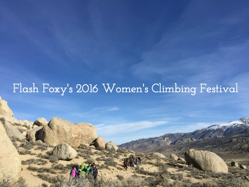 Flash Foxy 2016 Women's Climbing Festival - Campfire Chic