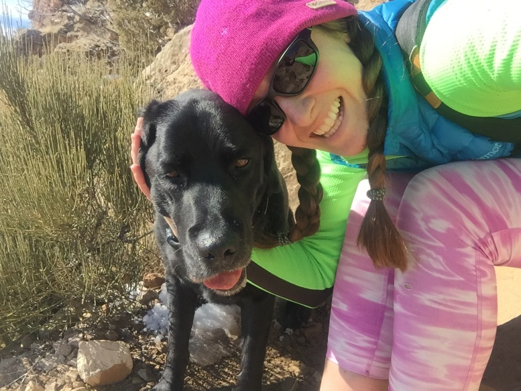Beth and Sprocket of 3UpAdventures share tips for taking your dog on adventures - Interview on Campfire Chic blog