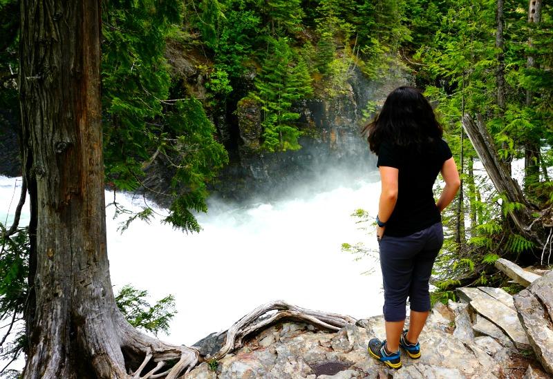 McDonald Falls in Glacier National Park - Campfire Chic