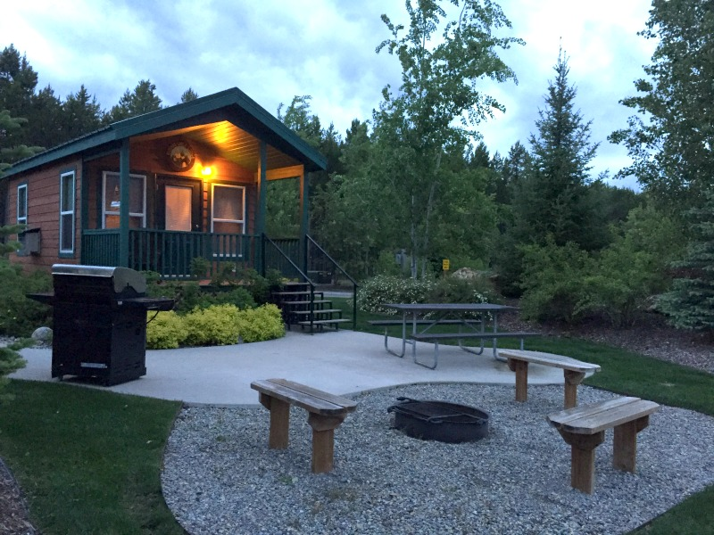 West Glacier KOA Deluxe Cabin Review - Campfire Chic