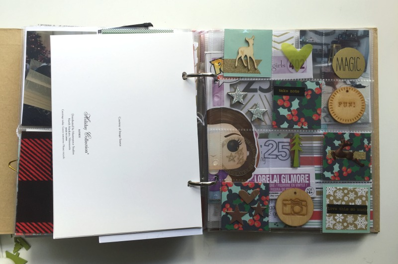 December Daily and 30 Days of Lists - Adding Layers to Your Scrapbook Albums