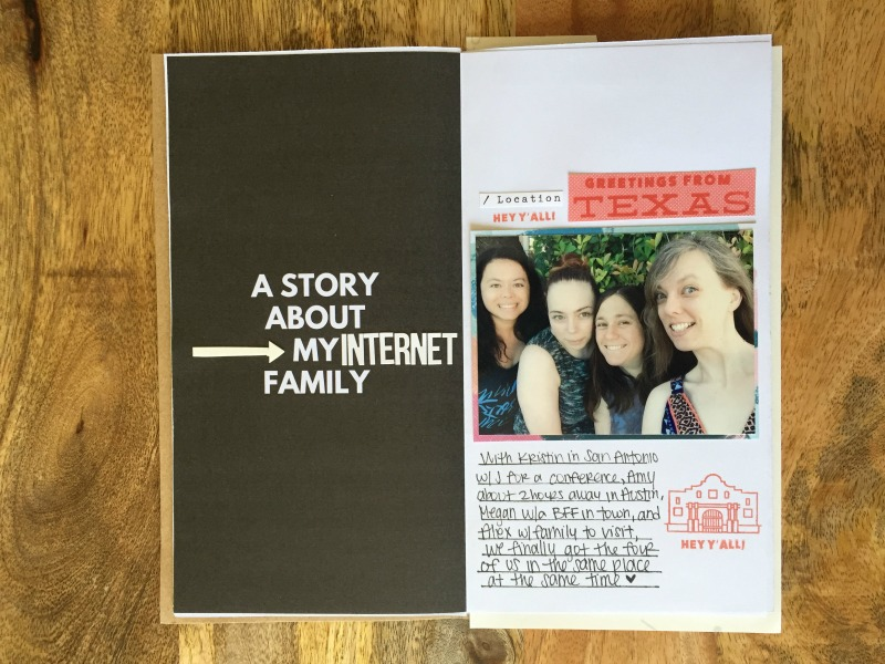 Tell Your Story with a Printable Scrapbook Travelers Notebook - Kam of Campfire Chic