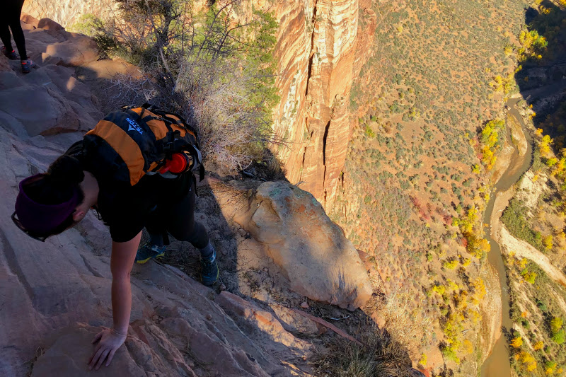 Canyon in Zion National Park - Travel with Kam of Campfire Chic