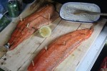 Finnish Blazing Salmon: Liomulohta