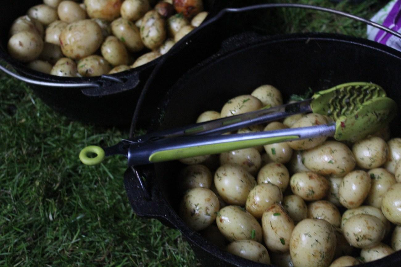 Herby Roast Potatoes
