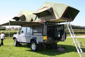 Roof-tents - camping kit for masochists, or a perfect ...