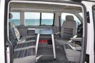 Inside a VW California Beach