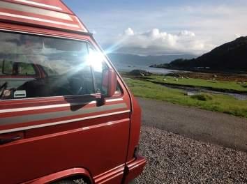Brit Stops campervan