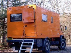 Bedford off-road motorhome