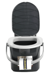 Branq portable camping toilet