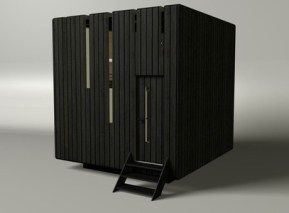 cool cube house