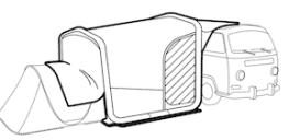 Decathlon connect tent3