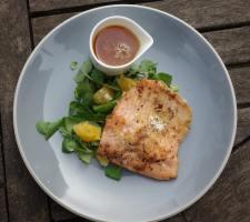 trout and orange salad