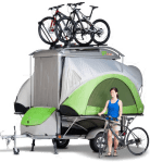 Go camping trailer tent