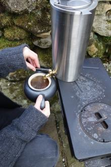 Frontier camping stove