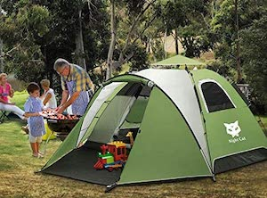 Buyers' guide to quick to pitch tents