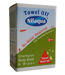 Nilaqua waterless wash
