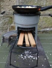 EcoZoom camping stove