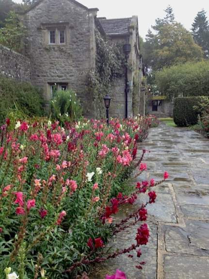 Parcevall Hall Gardens.