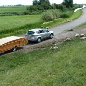 chafer wooden trailer tent